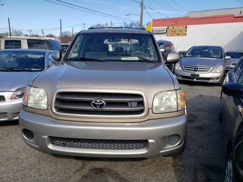 2002 Toyota Sequoia for sale at Jimmys Auto INC in Washington DC