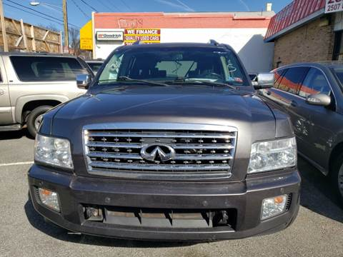 2008 Infiniti QX56 for sale at Jimmys Auto INC in Washington DC