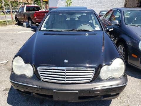2004 Mercedes-Benz C-Class for sale at Jimmys Auto INC in Washington DC
