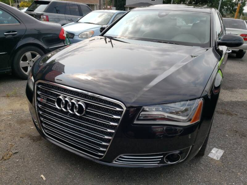 2013 Audi A8 L for sale at Jimmys Auto INC in Washington DC