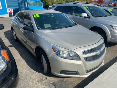 2013 Chevrolet Malibu LS for sale at GEM STATE AUTO in Boise ID