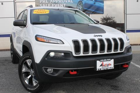 2015 Jeep Cherokee for sale in Winchester, VA