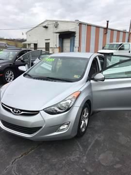 2012 Hyundai Elantra for sale at Country Auto Sales Inc. in Bristol VA