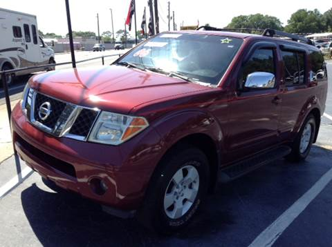 2006 nissan pathfinder for sale in florida for Frontier motors inc pensacola fl