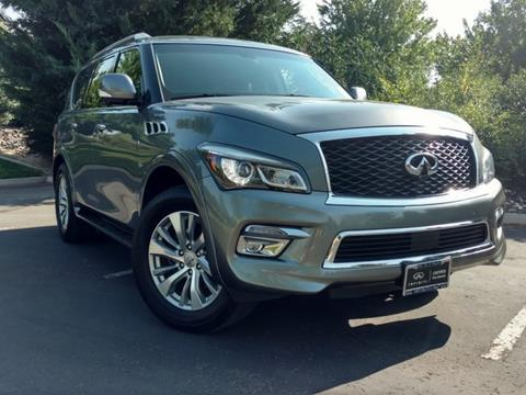 2017 Infiniti QX80 for sale in Reno, NV