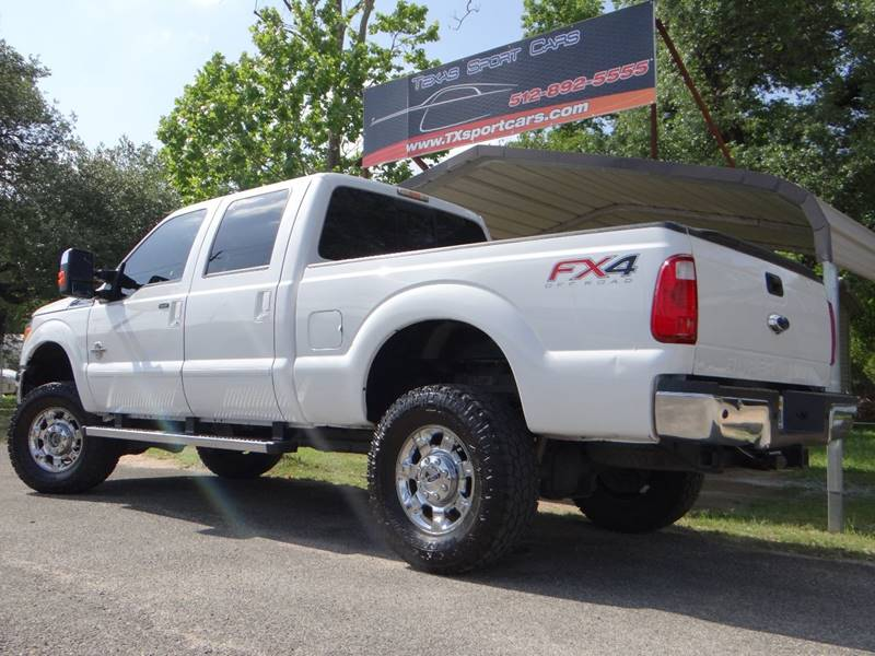2013 Ford F-250 Super Duty 4x4 Lariat 4dr Crew Cab 6.8 ft. SB Pickup - Austin TX