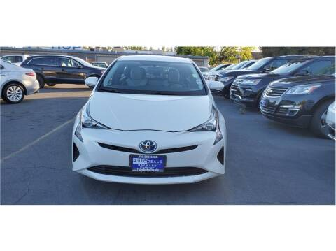 2016 Toyota Prius for sale at AutoDeals in Hayward CA