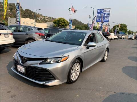 2019 Toyota Camry for sale at AutoDeals in Hayward CA
