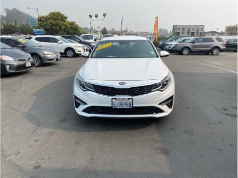 2019 Kia Optima for sale at AutoDeals in Hayward CA