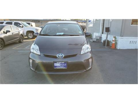 2012 Toyota Prius for sale at AutoDeals in Hayward CA