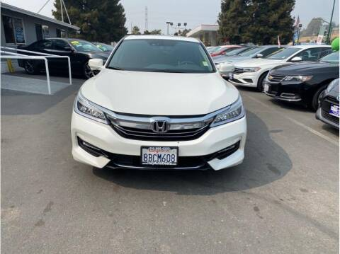 2017 Honda Accord Hybrid for sale at AutoDeals in Hayward CA