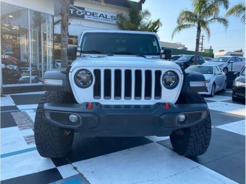 2018 Jeep Wrangler Unlimited for sale at AutoDeals in Hayward CA