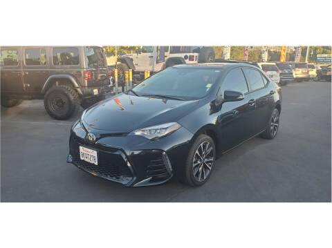 2018 Toyota Corolla for sale at AutoDeals in Hayward CA