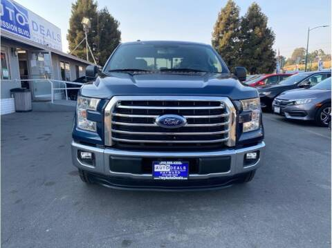 2015 Ford F-150 for sale at AutoDeals in Hayward CA