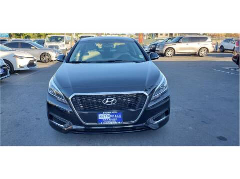 2016 Hyundai Sonata Hybrid for sale at AutoDeals in Hayward CA