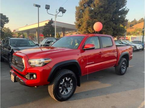 2018 Toyota Tacoma for sale at AutoDeals in Hayward CA
