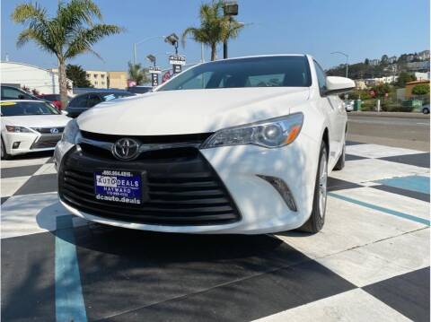 2017 Toyota Camry for sale at AutoDeals in Hayward CA