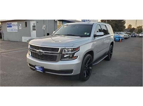 2015 Chevrolet Tahoe for sale at AutoDeals in Hayward CA