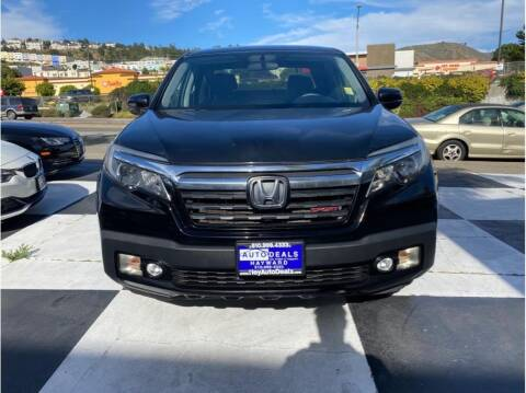 2017 Honda Ridgeline for sale at AutoDeals in Hayward CA