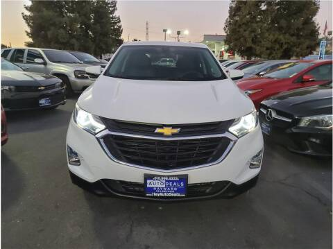 2018 Chevrolet Equinox for sale at AutoDeals in Hayward CA