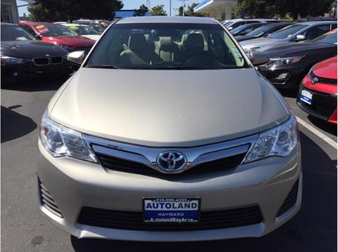 2013 Toyota Camry Hybrid for sale in Hayward, CA