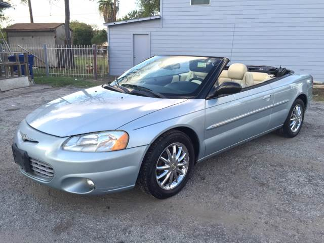 2002 chrysler sebring limited 2dr convertible in san for A a motors san antonio tx