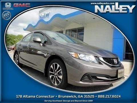 2013 Honda Civic for sale in Brunswick, GA