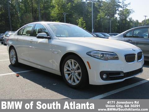 2016 BMW 5 Series for sale in Union City, GA