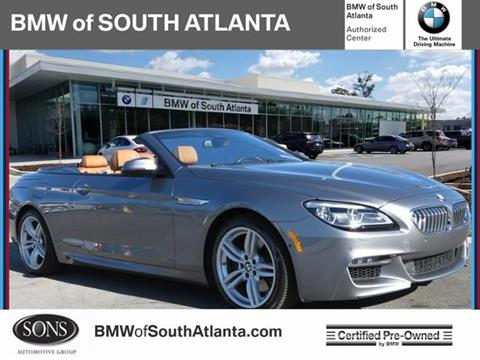 Atlanta Luxury Motors Newnan >> 2017 Bmw 6 Series For Sale In Union City Ga