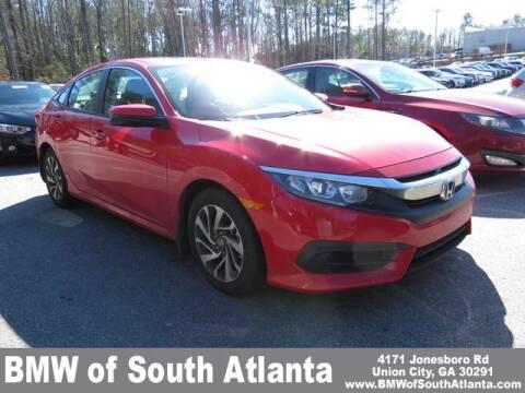 2017 Honda Civic EX for sale at BMW of South Atlanta in Union City GA