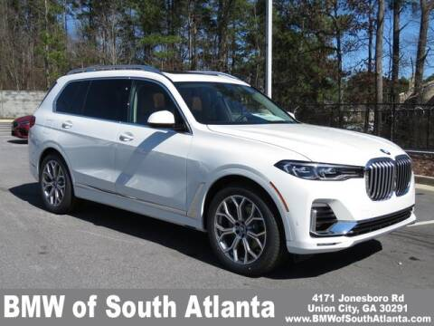 2020 BMW X7 xDrive40i for sale at BMW of South Atlanta in Union City GA