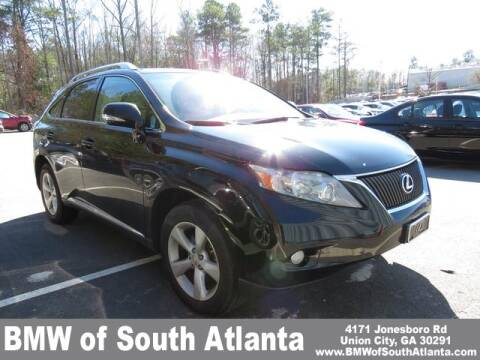 2012 Lexus RX 350 for sale at BMW of South Atlanta in Union City GA