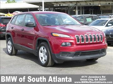 2014 Jeep Cherokee for sale in Union City, GA