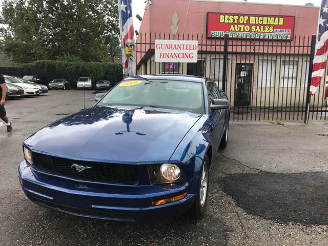 2008 Ford Mustang car for sale in Detroit