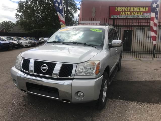 2006 Nissan Armada car for sale in Detroit