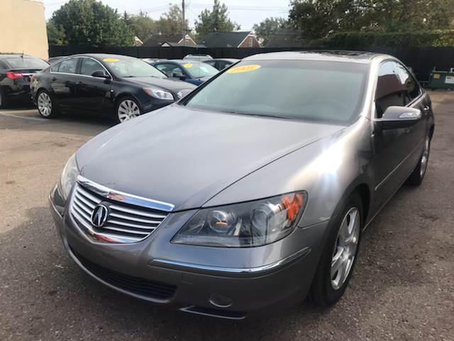 2005 Acura Rl car for sale in Detroit
