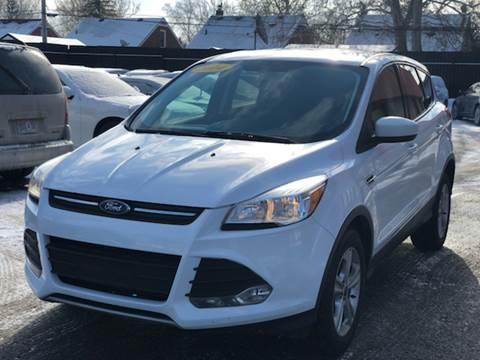 used 2014 ford escape for sale in detroit mi. Black Bedroom Furniture Sets. Home Design Ideas