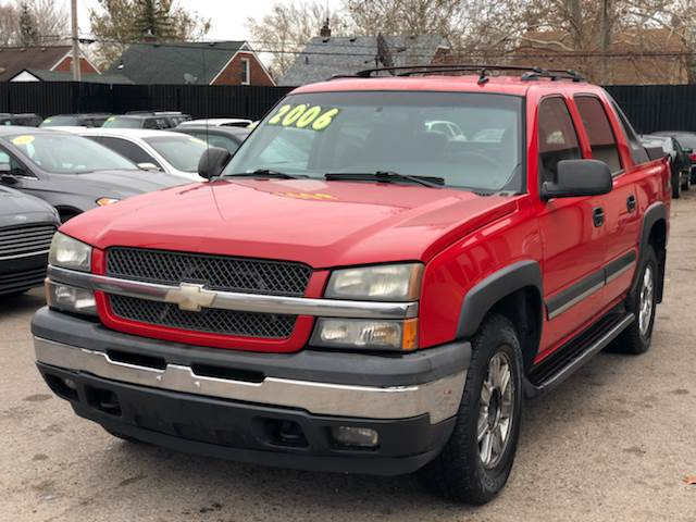 2006 Chevrolet Avalanche car for sale in Detroit