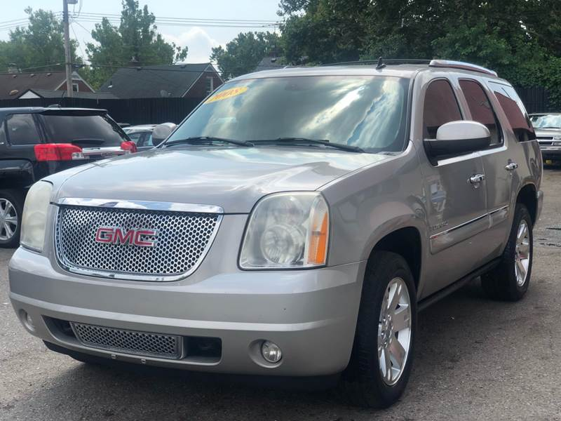 2008 Gmc Yukon car for sale in Detroit