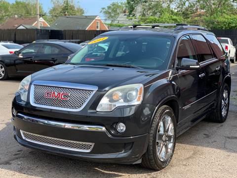 2011 GMC Acadia for sale in Detroit, MI