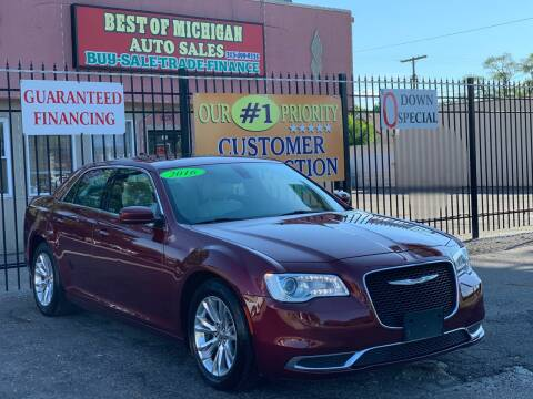 2016 Chrysler 300 for sale at Best of Michigan Auto Sales in Detroit MI