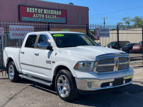 2013 RAM Ram Pickup 1500 for sale at Best of Michigan Auto Sales in Detroit MI