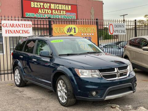 2014 Dodge Journey for sale at Best of Michigan Auto Sales in Detroit MI
