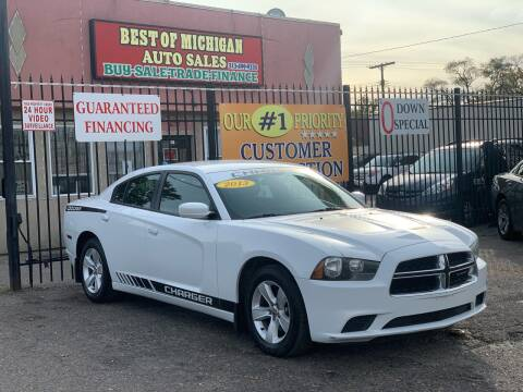 2013 Dodge Charger for sale at Best of Michigan Auto Sales in Detroit MI