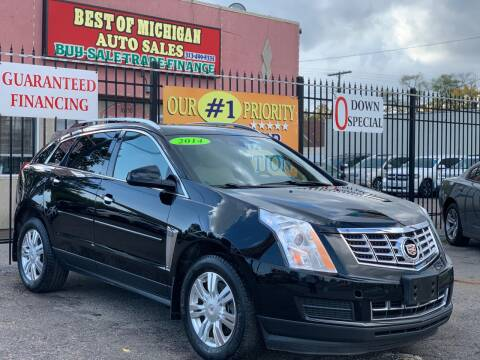 2014 Cadillac SRX for sale at Best of Michigan Auto Sales in Detroit MI