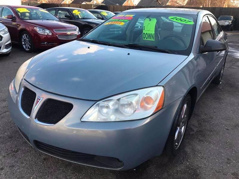 2007 Pontiac G6 car for sale in Detroit