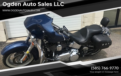 2008 Harley-Davidson softtai deluxe for sale in Spencerport, NY
