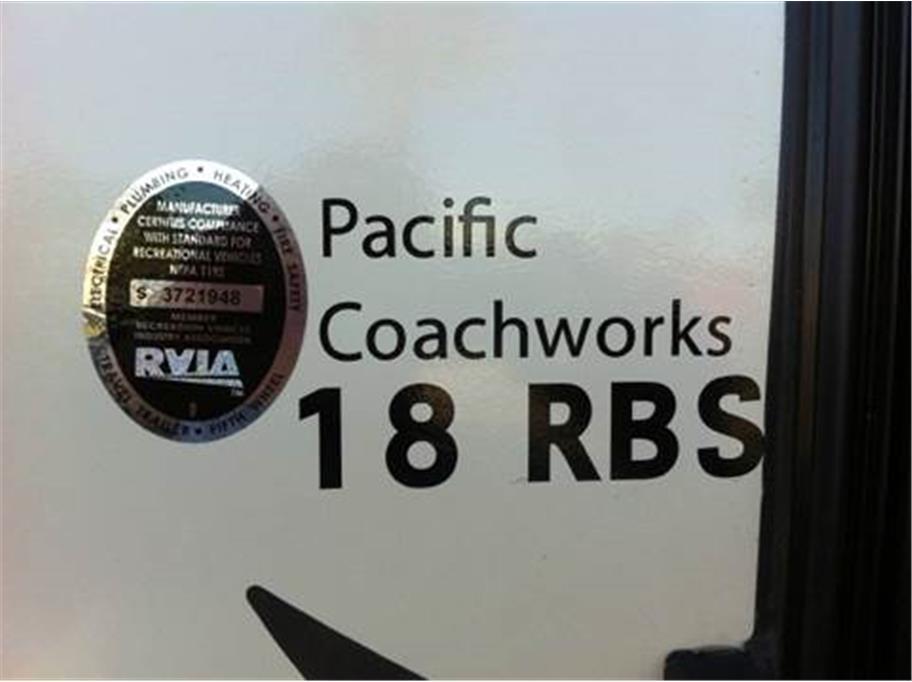 2016 Pacific Coachworks Econ 18RBS - Oxnard CA
