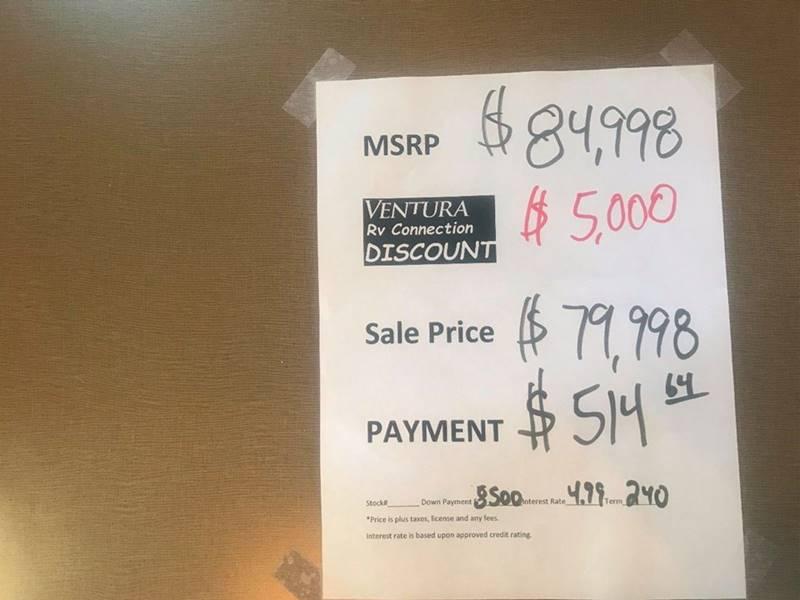 2017 Winnebago Minnie Winnie 31H  - Oxnard CA