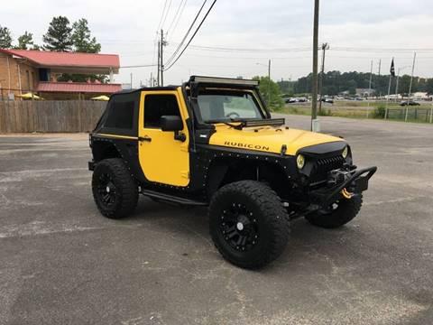 2009 Jeep Wrangler for sale in Jasper, AL